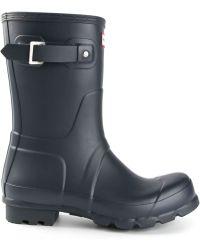 Hunter Low Original Wellington Boots - Lyst