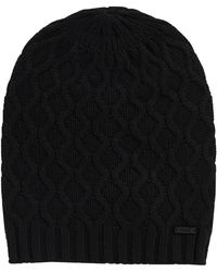 HUGO - Hat In Viscose Blend With Cashmere: 'women-x 491' - Lyst
