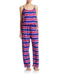 Tommy Bahama | Striped Long Jumpsuit | Lyst