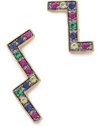 Elizabeth and James - Maru Earrings - Multi - Lyst