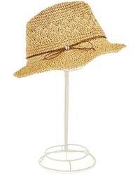 Ivanka Trump Tie Accented Bucket Hat - Natural