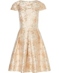 Pied a Terre   Rose Jacquard Dress   Lyst