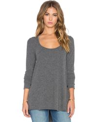 Saint Grace - Brit Side Button Long Sleeve Tee - Lyst