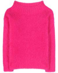 Burberry Brit - Mohair-blend Sweater - Lyst