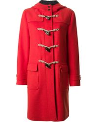 MSGM Long Fit Duffle Coat - Lyst