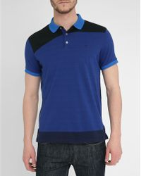 Marc By Marc Jacobs Royal Blue Classic Graphics Ss Polo Shirt - Lyst