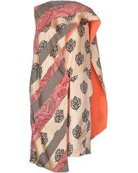 Celine Multicolor Short Dress - Lyst