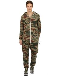 Onepiece Techno Cotton Camouflage Jumpsuit - Lyst