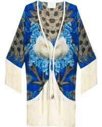 Athena Procopiou Empress Kimono multicolor - Lyst