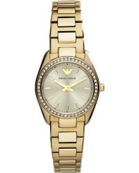 Emporio Armani Sportivo Goldtoned Watch Gold - Lyst