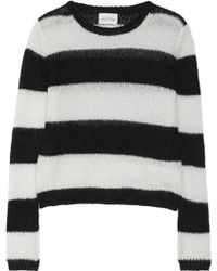 American Vintage Nashua Striped Knitted Sweater - Lyst