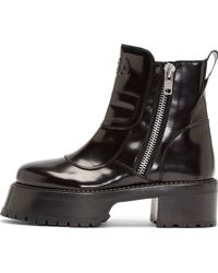 Hood By Air - Black Leather Forfex Edition Centaur Boots - Lyst