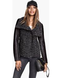 H&M Bouclé Jacket - Lyst