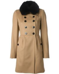 Burberry Cashmere Wool Coat - Lyst