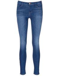 J Brand | 'super Skinny' Whiskered Jeans | Lyst