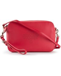 Mulberry Blossom Nappa-Leather Pochette - Lyst