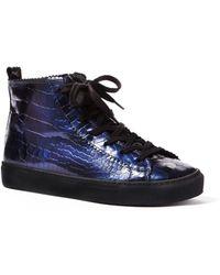Rachel Comey Pops Croc Sneaker - Lyst