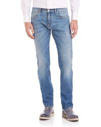 Façonnable - Sleek Five-pocket Jeans - Lyst