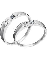 Tia Collections - I-do Diamond Promise Ring For Women =0.04ctw - Lyst