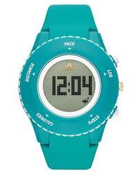 adidas Originals 'sprung' Digital Watch - Green