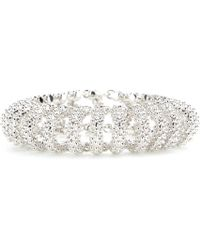 Balenciaga - Chain Bubble Track Bracelet - Lyst