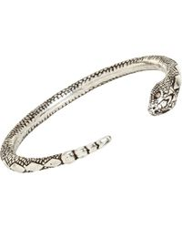 Pamela Love Serpent Bangle - Metallic