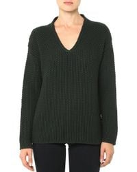 AG Adriano Goldschmied The V-Neck Sweater - Lyst