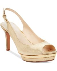 Nine West Able Platform Pumps - Lyst