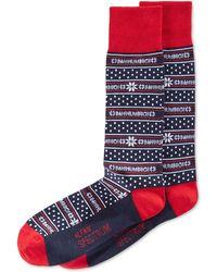 Alfani - Spectrum Holiday Snowflake Socks - Lyst