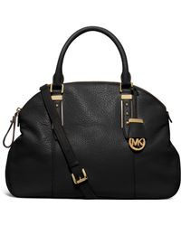 Michael Kors Bowery Large Leather Shoulder Bag - Lyst