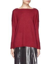 Vince Ottoman Cuff Cashmere Sweater - Lyst