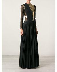Ohne Titel Pleated Sheer Dress - Lyst