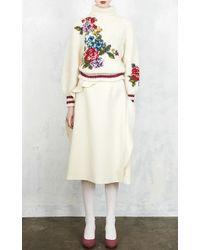 Leur Logette Triple Cross Skirt - White