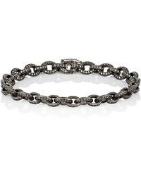 Munnu - Women's Petite Oval-link Bracelet - Lyst