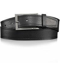 Tumi - Reversible Leather Belt - Lyst