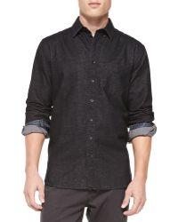 Rag & Bone Button-down Plaid Shirt - Lyst