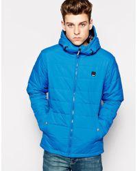 Bench Hooded Jacket - Blue
