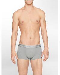 Calvin Klein Underwear Air Micro Low Rise Trunk - Lyst