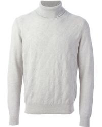 Canali Turtle Neck Sweater - Lyst