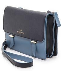 Karen Walker Sloane Cross Body Bag  Bluemidnight - Lyst