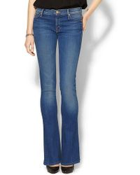 Mother The Runaway Skinny Flare Jean - Lyst