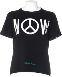 "Off White C/o Virgil Abloh T-Shirt ""Othelo Now"" In Cotone Nero black - Lyst"