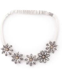 Lanvin - Flower Hair Band - Lyst