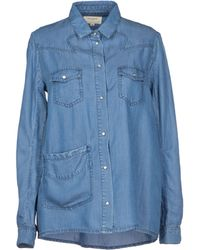 ELEVEN PARIS Denim Shirt - Blue