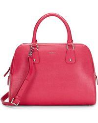 Furla Elena Saffiano Leather Bag - Lyst