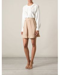 Chloé Loose Short - Lyst
