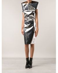 Gareth Pugh Abito Snood Dress - Lyst