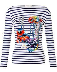 Mary Katrantzou | Boat Neck T-shirt | Lyst