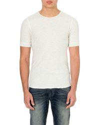 Diesel T-sivila Cotton T-shirt White - Lyst