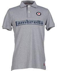 Lambretta Polo Shirt - Grey